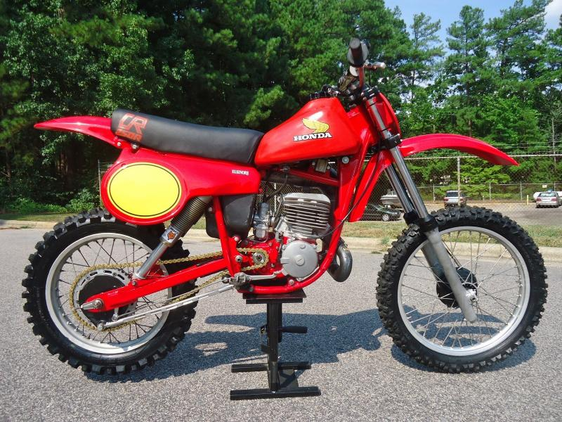 Msolis vintage motorcycle mx 250 for Team honda purchase program