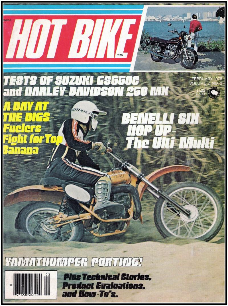 POPULAR CYCLING JUNE 1978 IT175 GLOVER DECOSTER SUPERCROSS RM VINTAGE MOTOCROSS